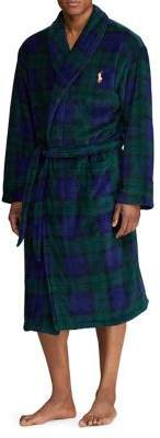 Polo Ralph Lauren Plaid Plush Robe