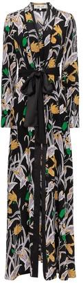 Diane von Furstenberg Bonnie floral silk maxi dress