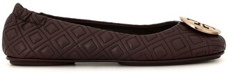 Tory Burch Minnie quilted ballerina shoes