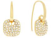 Cole Haan CZ Pave Cushion Charm Earrings