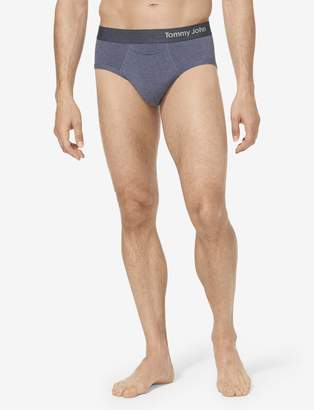 Tommy John Tommyjohn Cool Cotton Brief 2.0, Fall Solid Heather