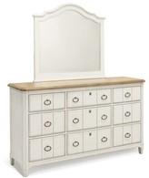 Panama Jack Millbrook 9 Drawer Dresser with Mirror Home
