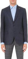 Lardini Slim-fit Wool-blend Jacket