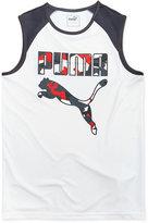 Puma Graphic-Print Muscle Tank Top, Big Boys (8-20)