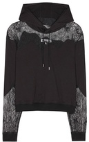 McQ by Alexander McQueen Lace-panelled Hoodie
