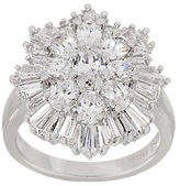 Elizabeth Taylor The 3.70cttw Simulated Diamond Cluster Ring