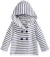 First Impressions Striped Hooded Sweater, Baby Girls (0-24 months), Only at Macy's