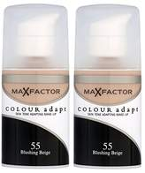 Max Factor Colour Adapt Foundation 55 Blushing (2 x 34ml) by