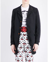 Comme Des Garcons Double Layered Woven Coat