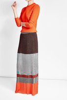 Missoni Maxi Skirt with Metallic Thread