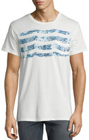 Sol Angeles Sapphire Waves Pocket T-Shirt, White