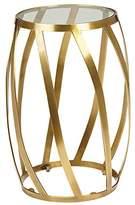 Ethan Allen Brass Twist Table