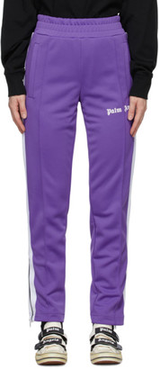 Palm Angels Purple Classic Slim Track Pants