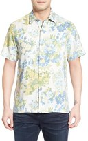 Tommy Bahama 'Yarra Valley' Regular Fit Floral Silk Camp Shirt