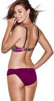 PINK Ruched Side Bikini Bottom