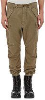 R 13 Men's Cotton-Blend Slim Cargo Jogger Pants-Dark Green