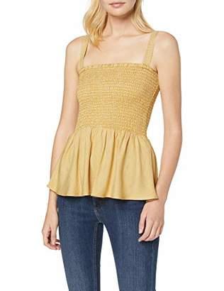 Pieces Women's Pccaya Slip Top Vest, Multicolour Pepper Checks: Bright White, Small