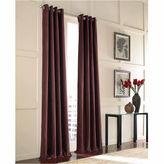 CHF Messina Velvet Grommet-Top Curtain Panel