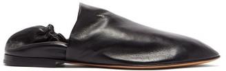Bottega Veneta Supple-leather Loafers - Black