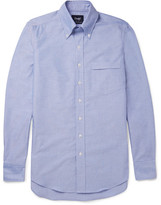 Drakes Drake's - Slim-Fit Button-Down Collar Cotton Oxford Shirt