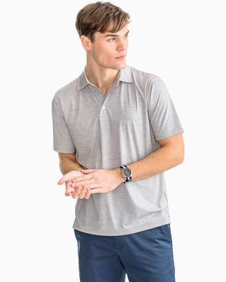 Southern Tide Coki Beach Space Dyed brrr Performance Polo Shirt