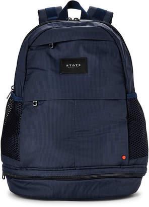 Lenox State Navy Laptop Nylon Backpack