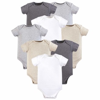 Hudson Baby Baby Infant Cotton Bodysuits