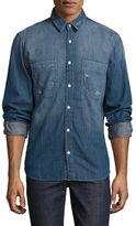 7 For All Mankind Double Patch Shirt