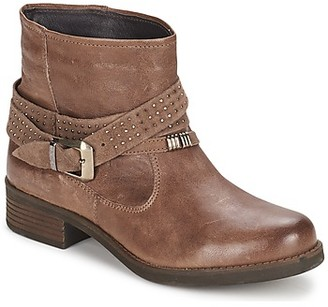 Keys CLOSE women's Mid Boots in Brown