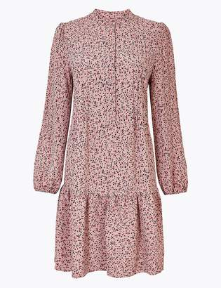 M&S CollectionMarks and Spencer Ditsy Floral Print Relaxed Mini Dress