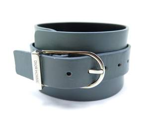Christian Dior Grey Leather Bracelets
