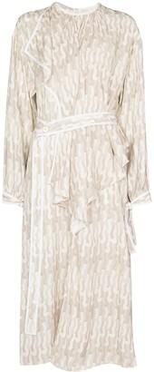Stella McCartney Taylor asymmetric silk dress