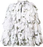 Christopher Raeburn 'Remade Schneetarn' fringed jacket