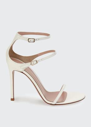 Gianvito Rossi Triple-Strap High-Heel Sandals