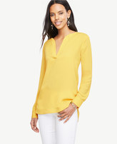 Ann Taylor Split Neck Tunic