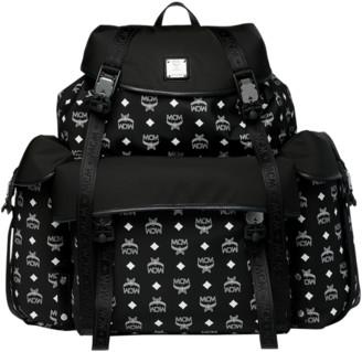 MCM Luft Multi-Pocket Backpack in Nylon