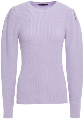 Maje Mobil Ribbed Wool-blend Sweater