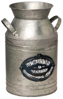 "Garden Accents Artificial Antique Milk Can Silver 12"" - National Tree Company®"