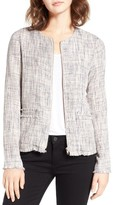 Cupcakes And Cashmere Women's Blake Tweed Jacket