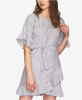 1 STATE 1.state Ruffled Faux-Wrap Dress