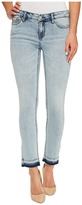 Calvin Klein Jeans Ankle Skinny Jeans in Isla Blue Destruct Wash Women's Jeans