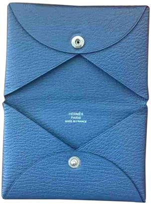 Hermã ̈S HermAs Calvi Blue Leather Purses, wallets & cases