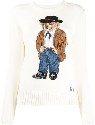 Polo Ralph Lauren Bear Print Jumper