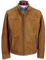 Roundtree & Yorke Leather Hipster Jacket