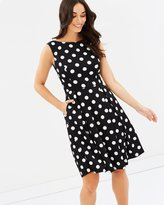 Forcast Eliza A-Line Dress