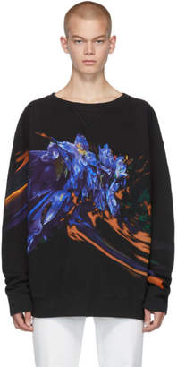 Maison Margiela Black Graphic Sweatshirt