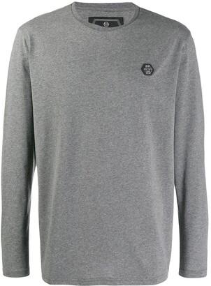Philipp Plein longsleeve logo T-shirt