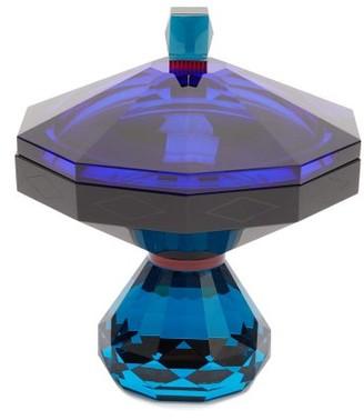 Reflections Copenhagen - Hamptons Crystal Trinket Box - Blue