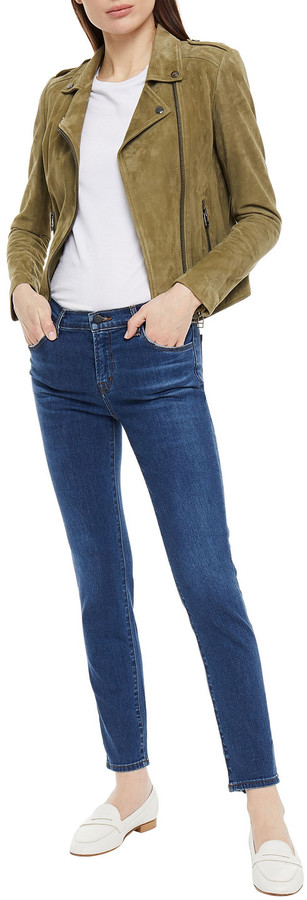 Thumbnail for your product : J Brand Mid-rise Skinny Jeans