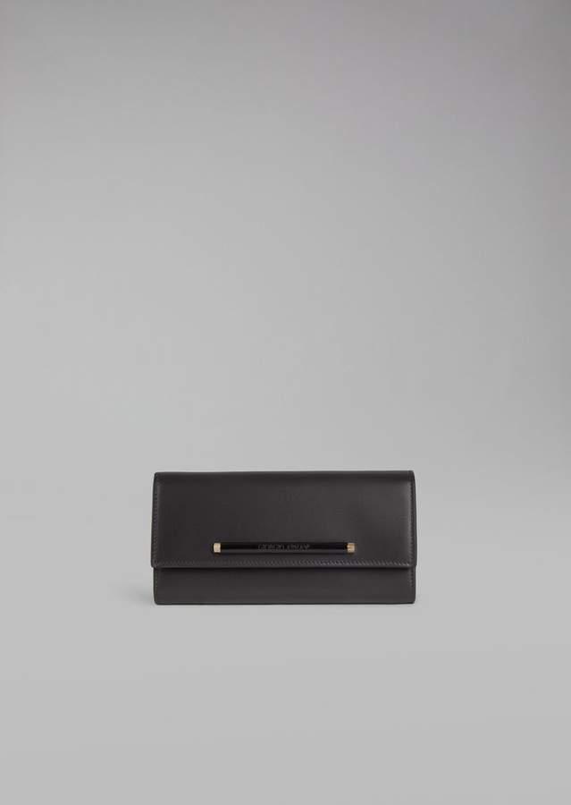 Giorgio Armani Horizontal Leather Wallet